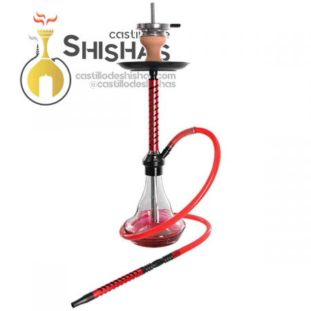 Cachimba Kaya Elox Eco Slice Medium Red